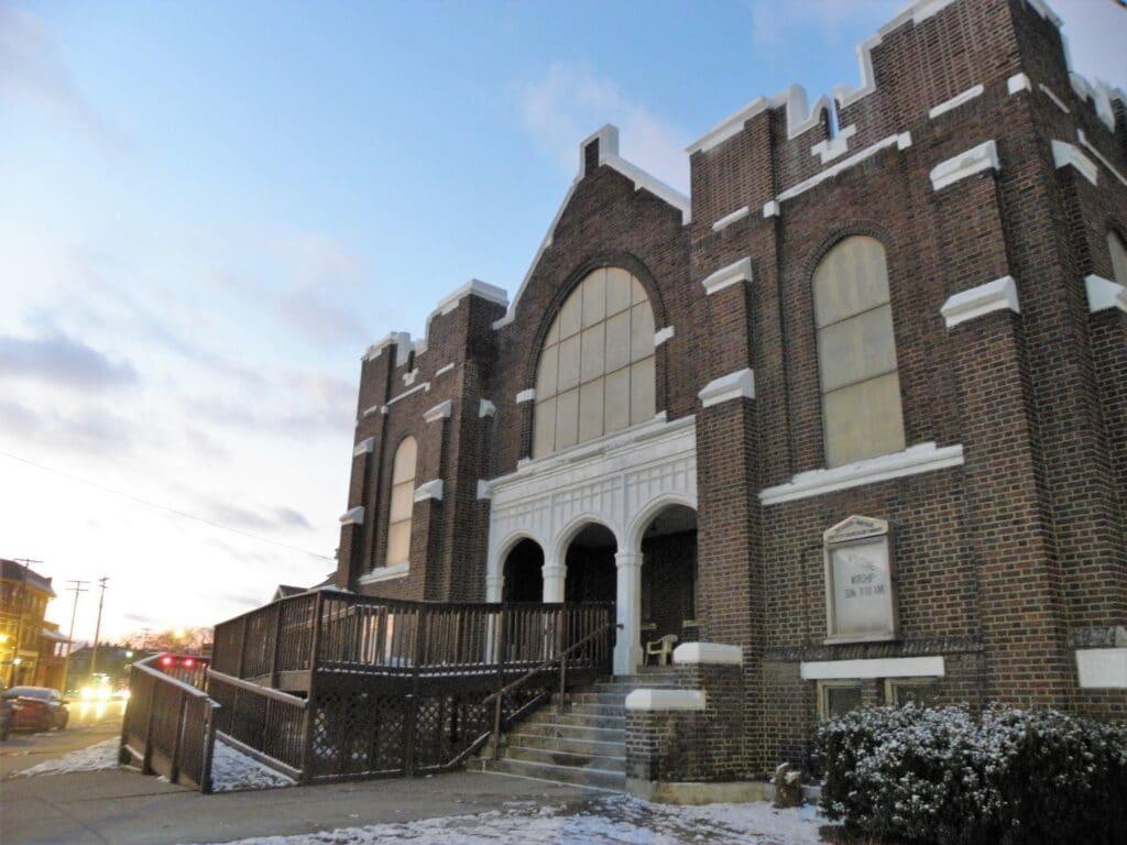 Exterior, Denison Avenue UCC, Cleveland, Dec. 17, 2019
