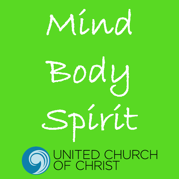 Mind, Body, Spirit, with UCC logo