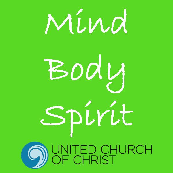 Mind, Body, Spirit, with UCC logo