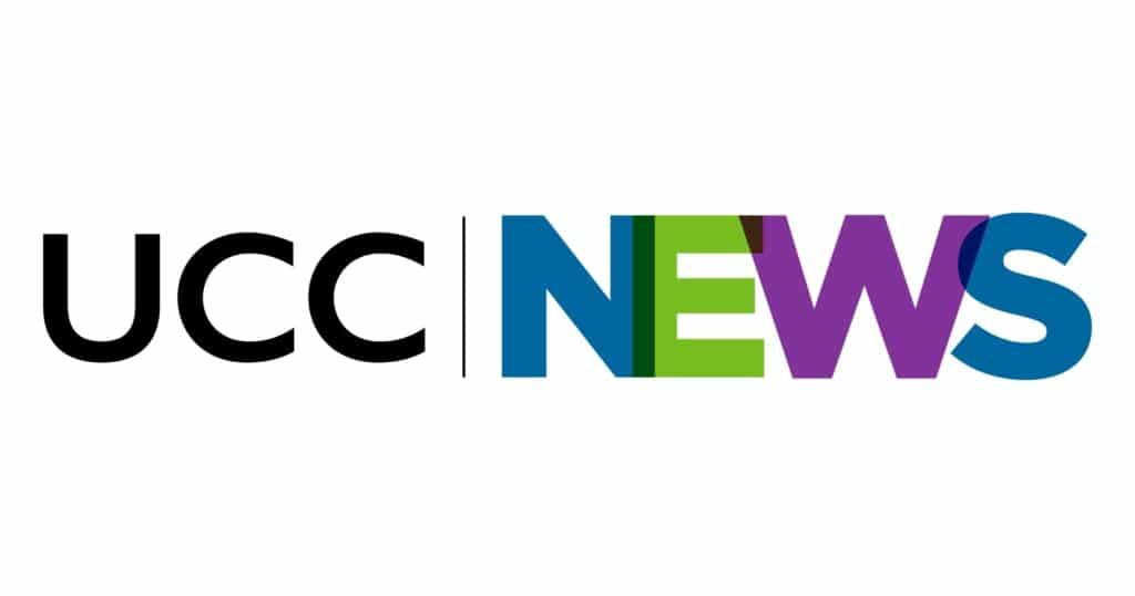 New UCC News logo as of 2021