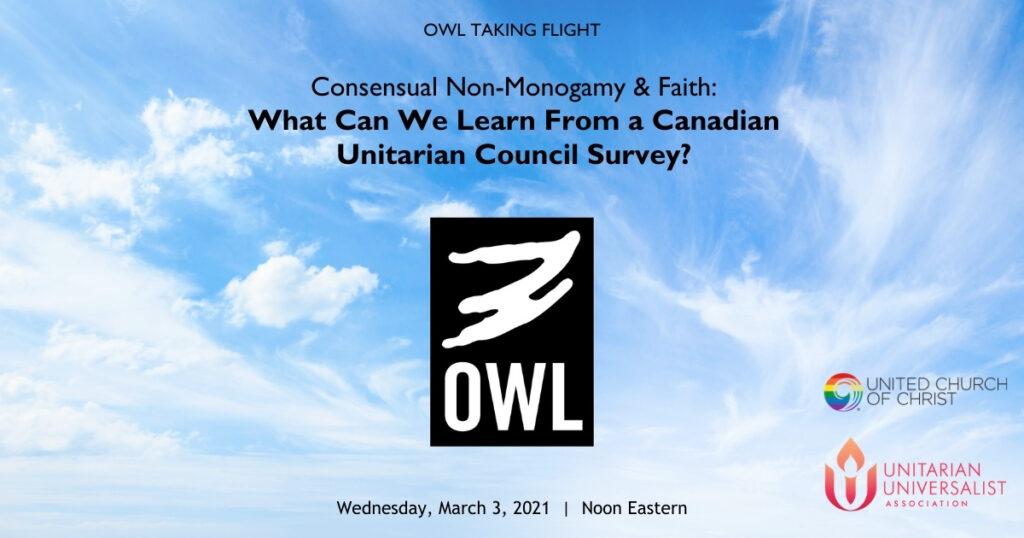 OWL Taking Flight March 2021 Zoom Banner