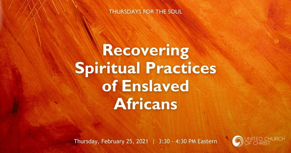 Recovering Spiritual Practices Zoom Banner