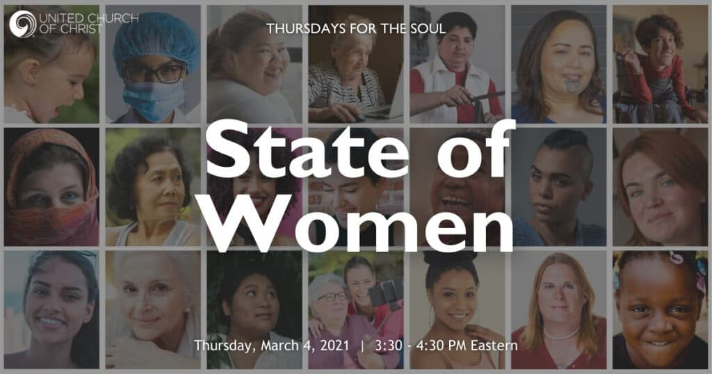State of Women Zoom Banner