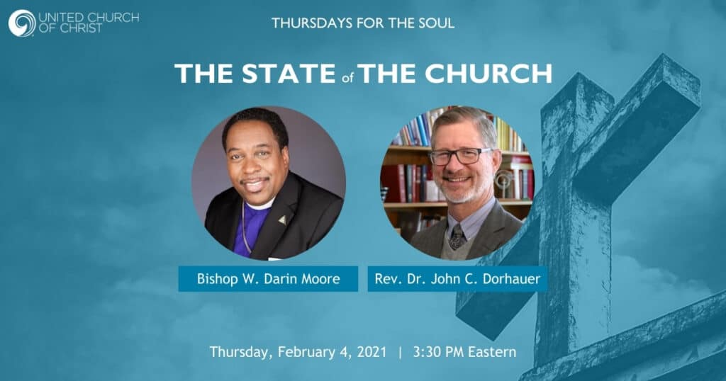 The State of the Church Zoom Banner