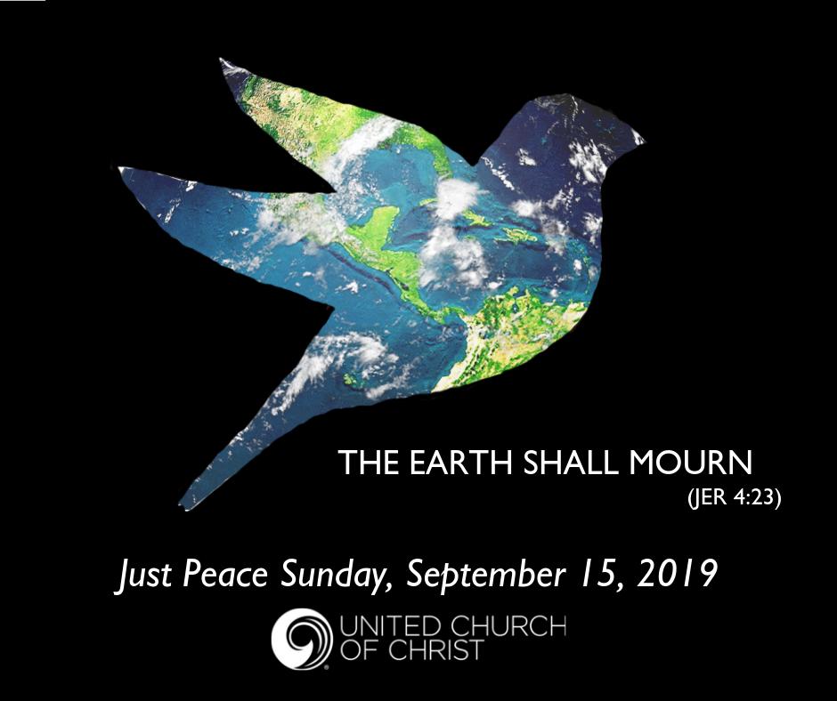 Just Peace Sunday logo 2019