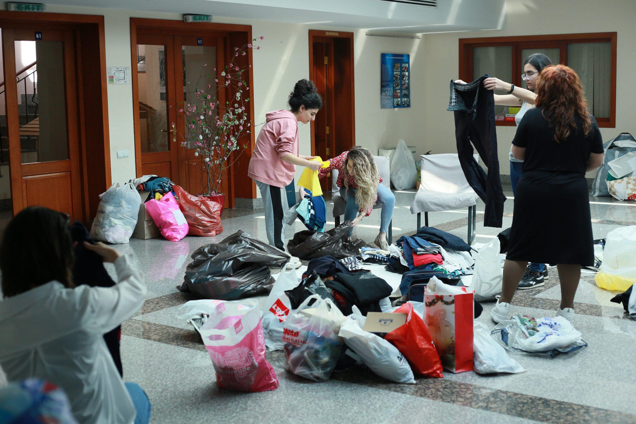 AMAA relief center, Yerevan, Armenia, October 2020