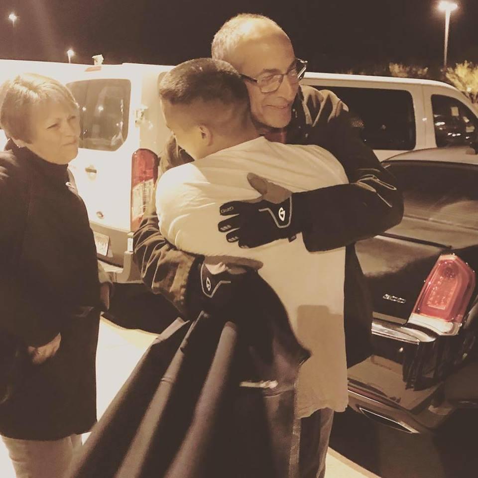 JISA hug for released detainee