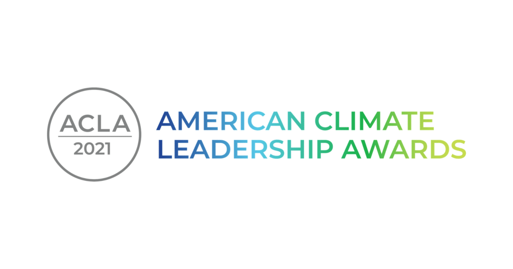 American Climate Leadership Awards 2021 logo