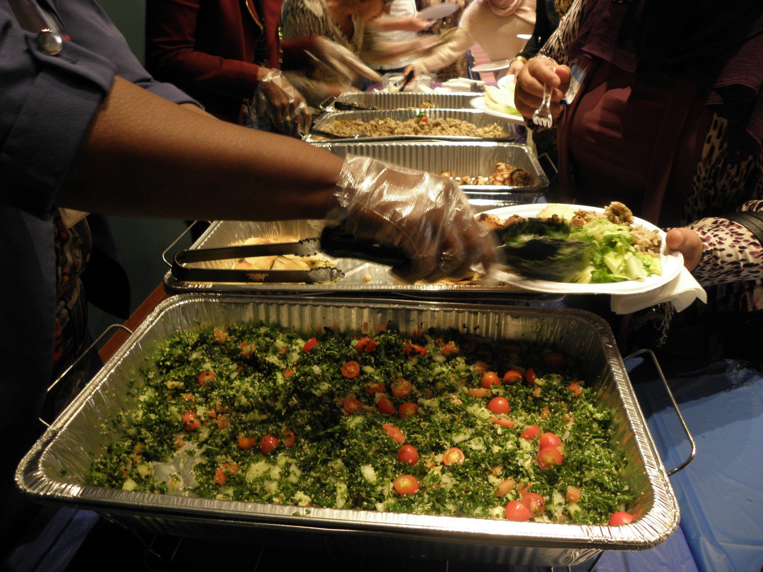 Food iin chapel, 9/16/19