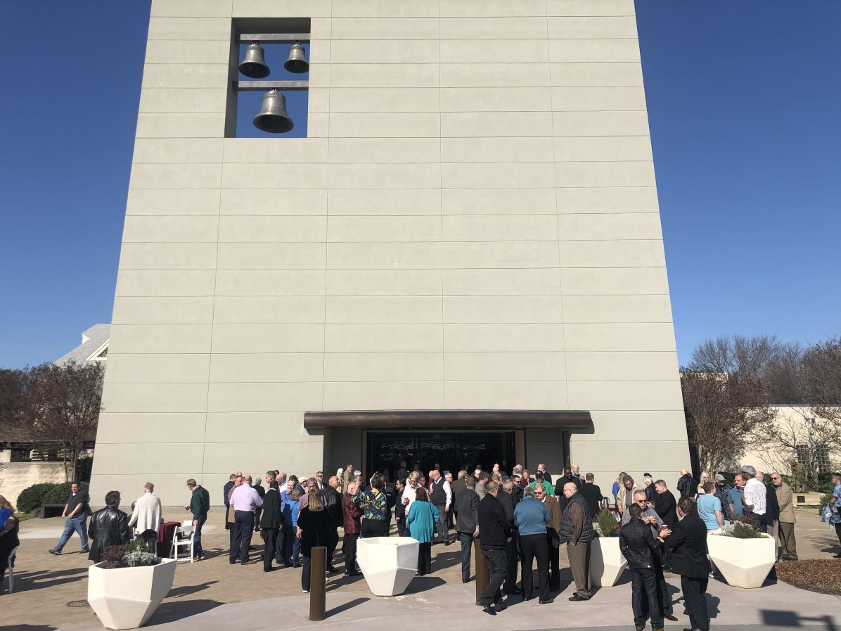 Cathedral of Hope Peace Plaza dedication, 2/16/20