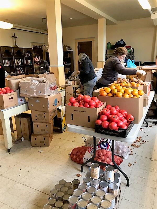 Grocery program, Denison Ave. UCC, 3/24/20