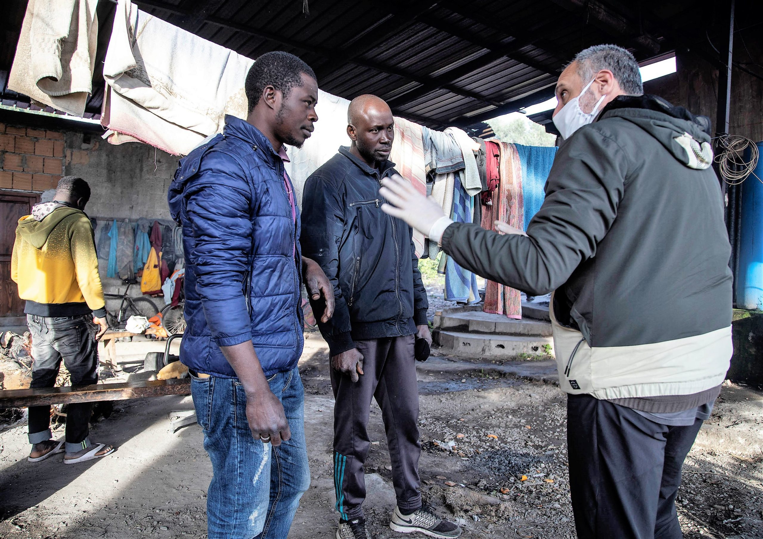 Waldensian works with African refugees