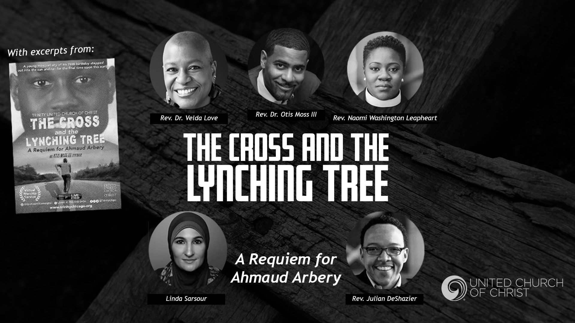 Cross and Lynching Tree webinar image, 5/31/20