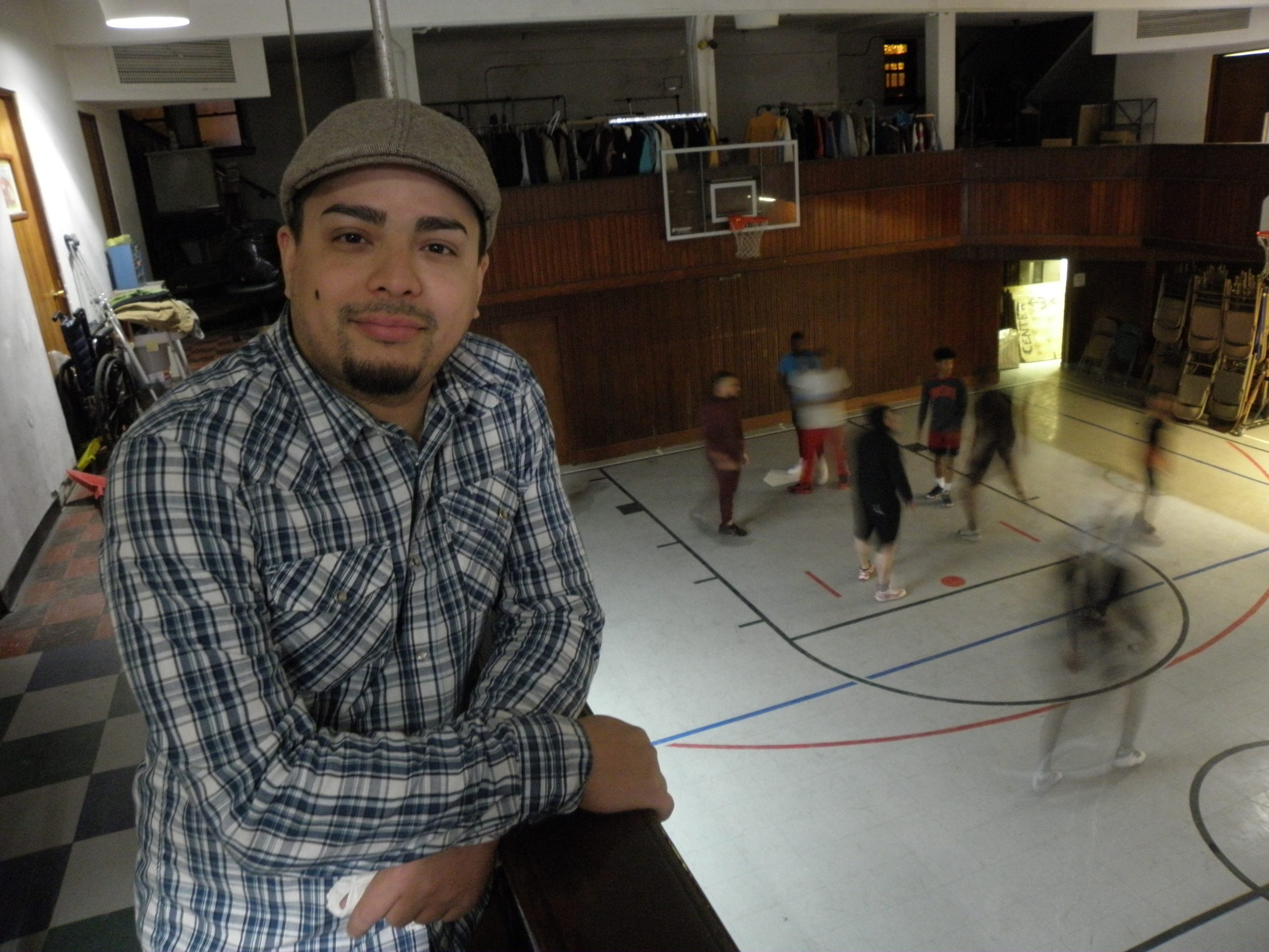 Reinaldo De Jesus at Denison Ave UCC gym, 12/17/19