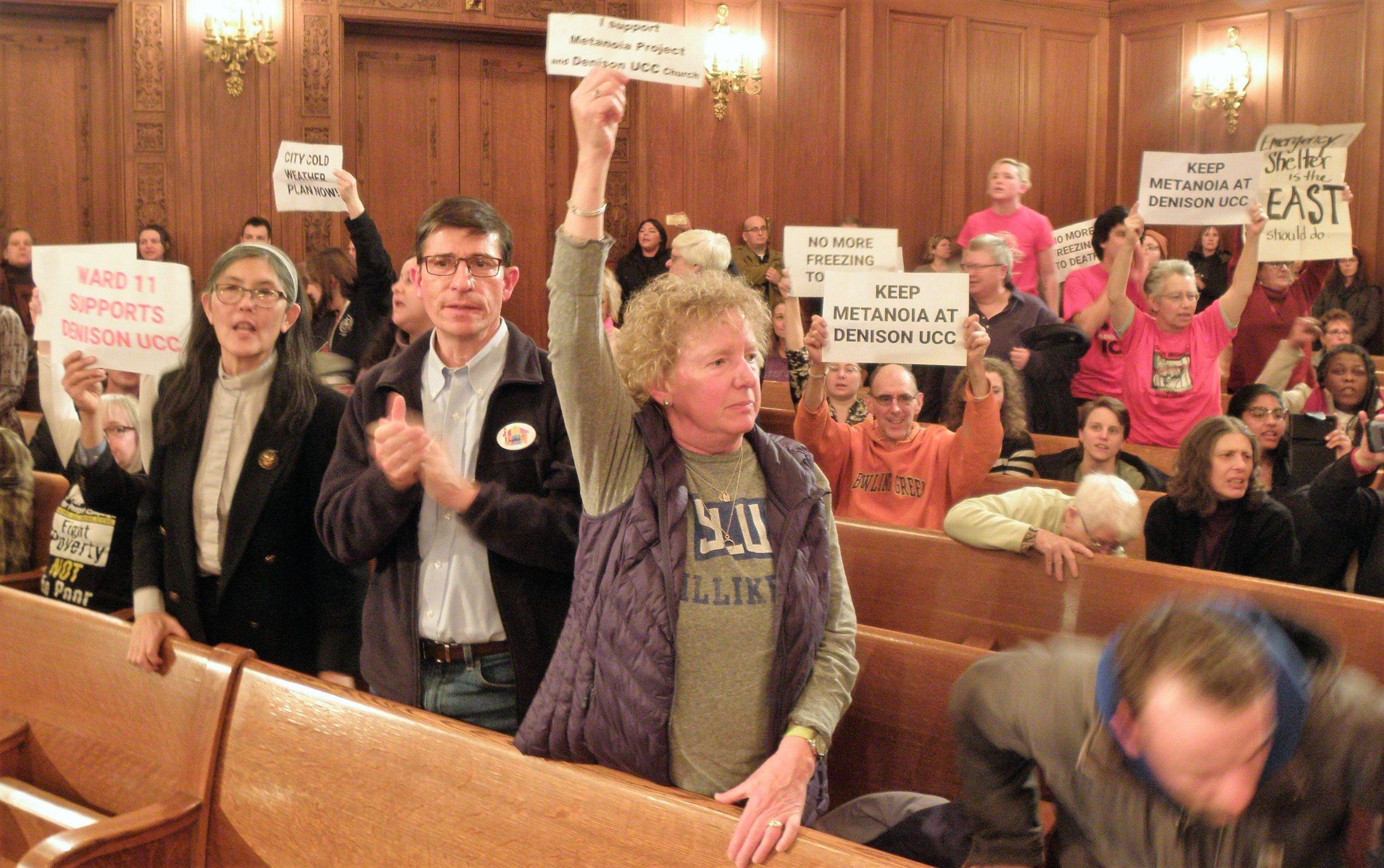 Cleveland City Council demonstrators 1/6/20