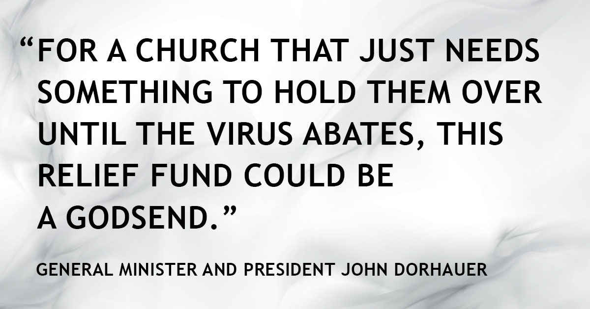 Dorhauer quote May 2020 on pandemic relief