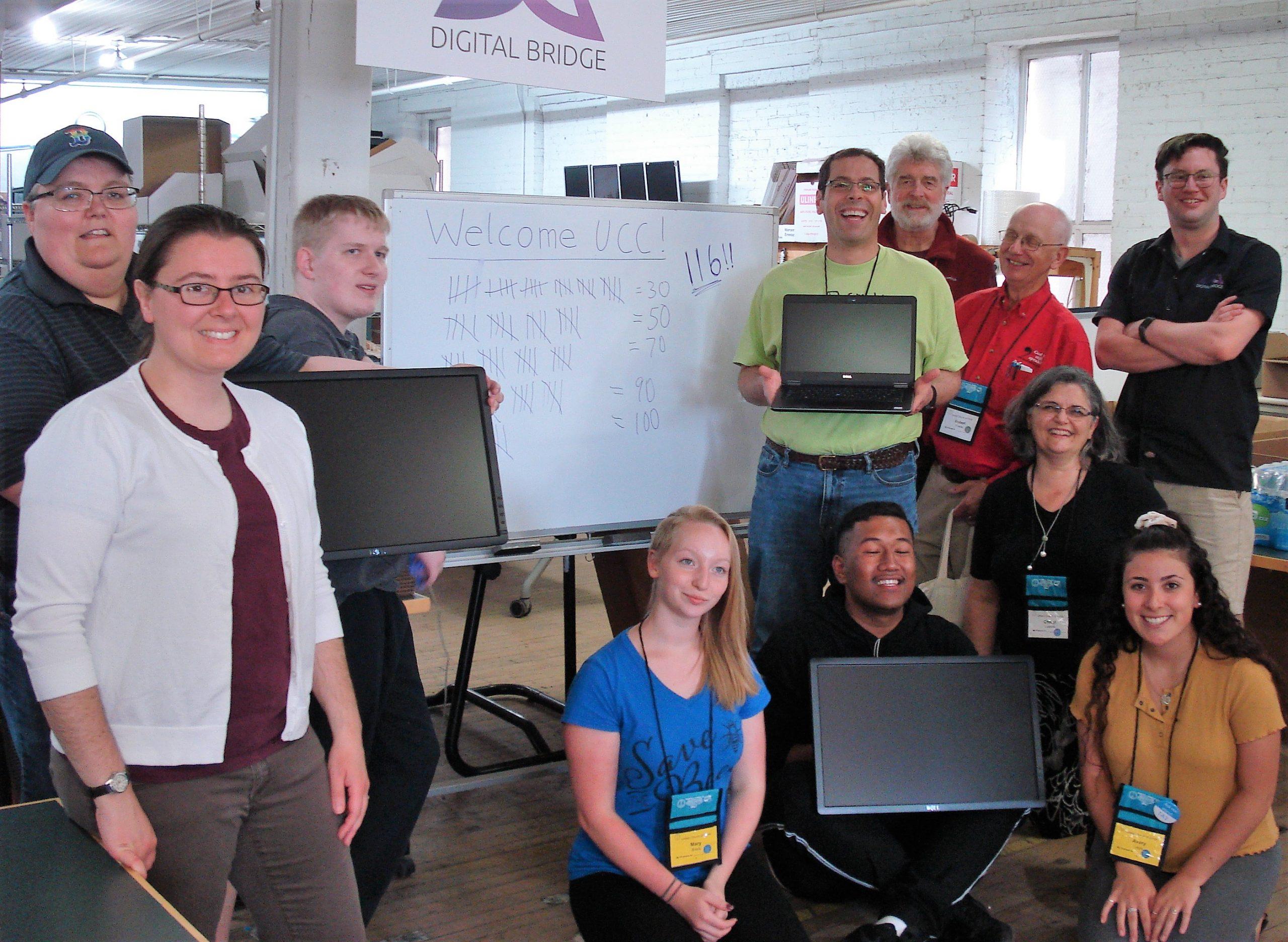 Digital Bridge service project celebration 6/22/19