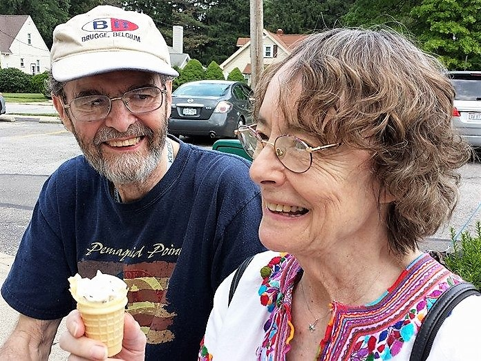 Evan and Deborah Golder in 2014
