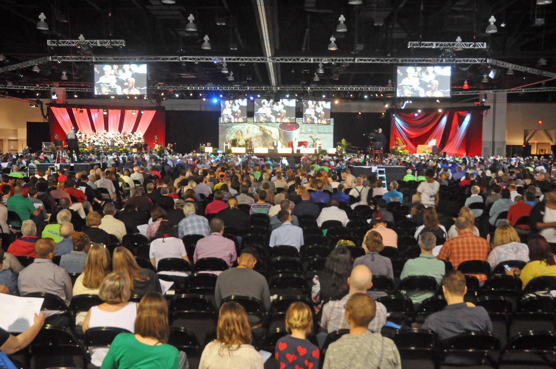 2019 Synod floor
