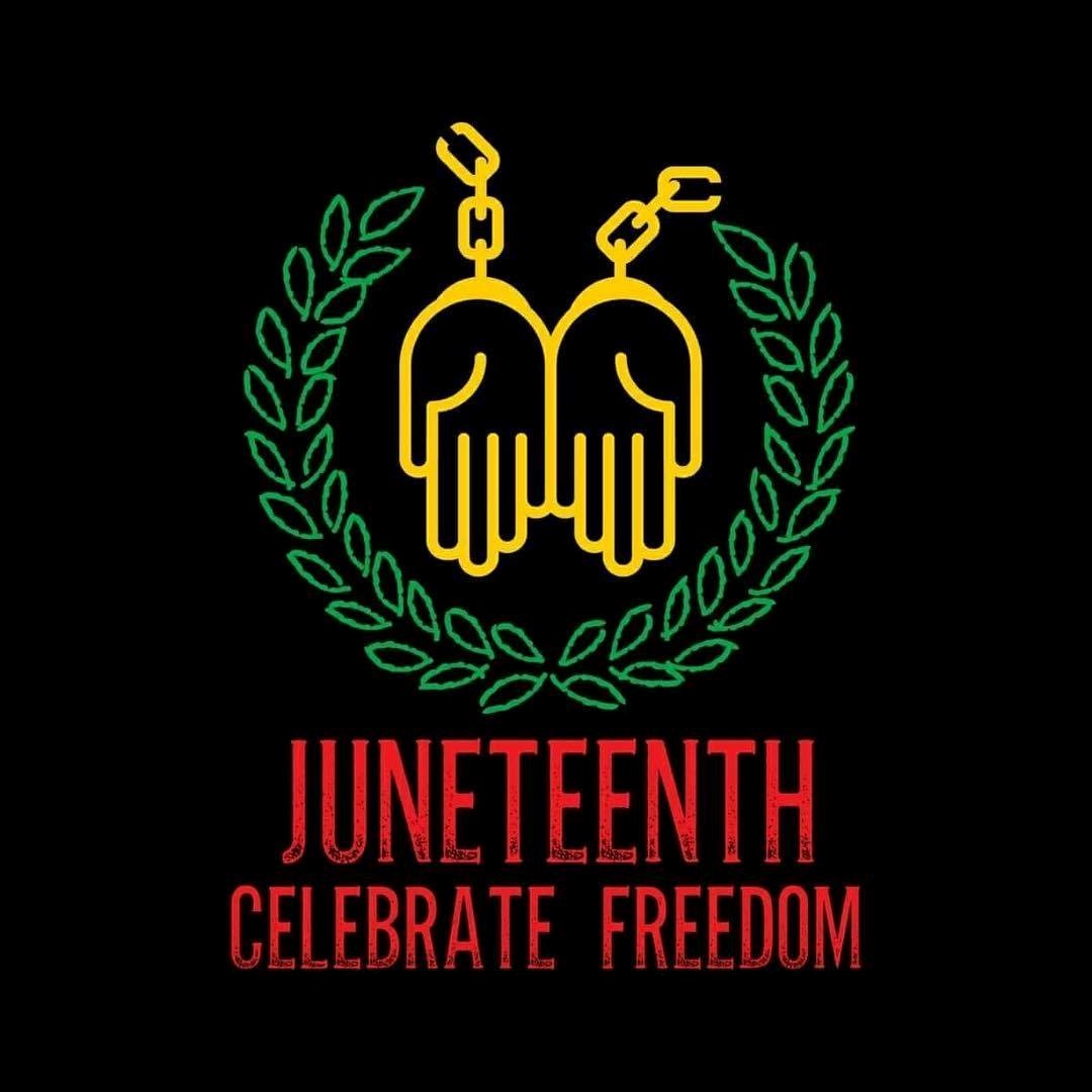 Juneteenth Celebration logo, NH Conference UCC