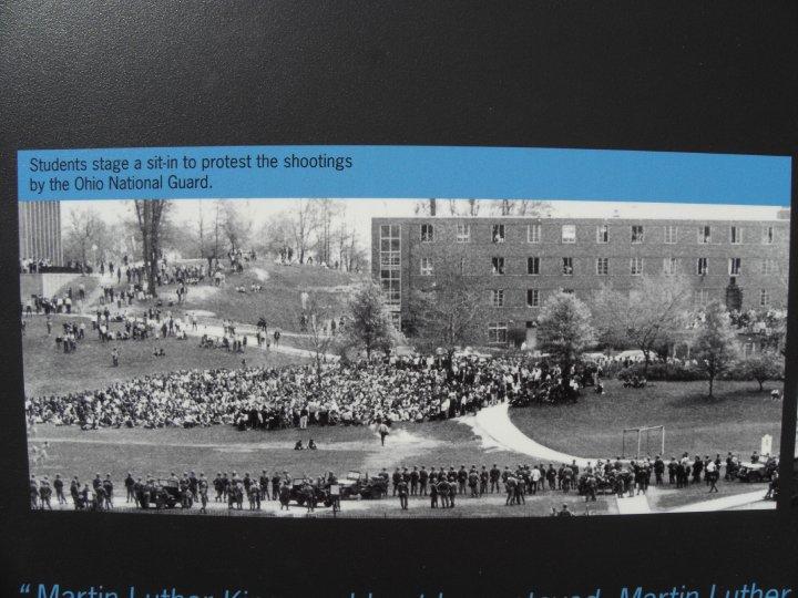 Student sit-in, KSU, 5/4/70