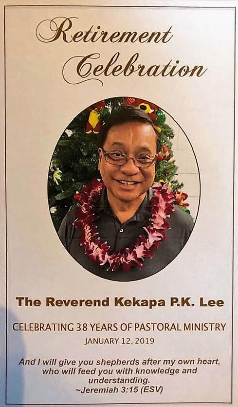 Kekapa Lee retirement program 2019