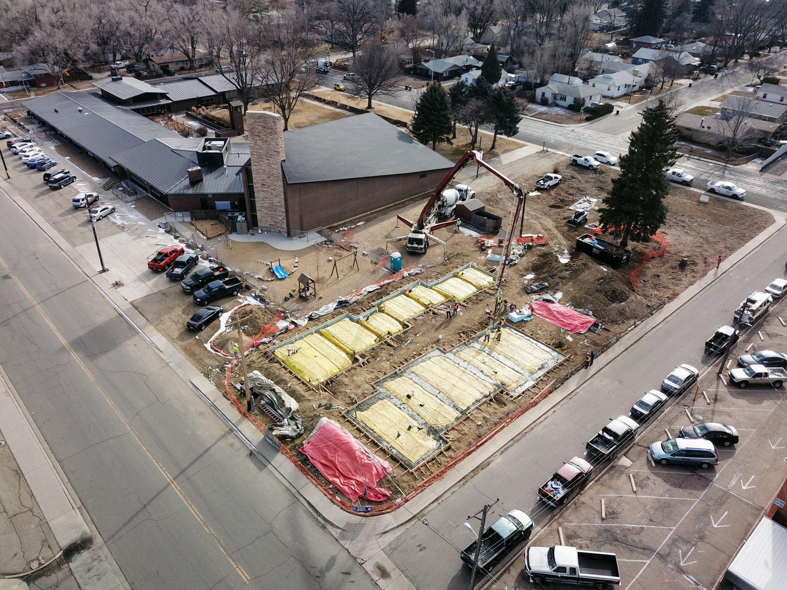 UCC Longmont aeriial view 1/23/19