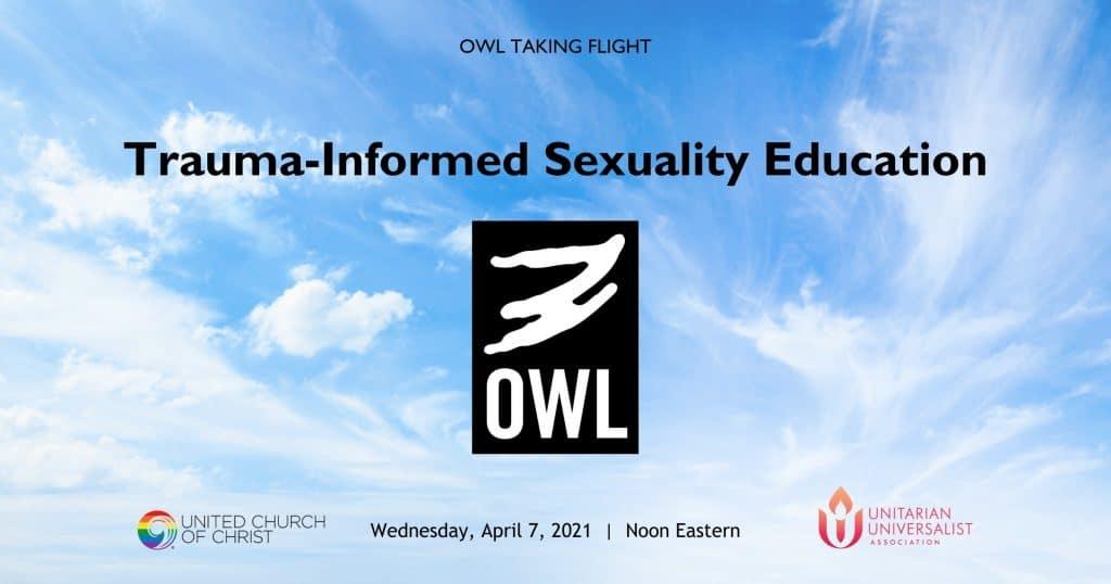 OWL Taking Flight April 2021 WordPress