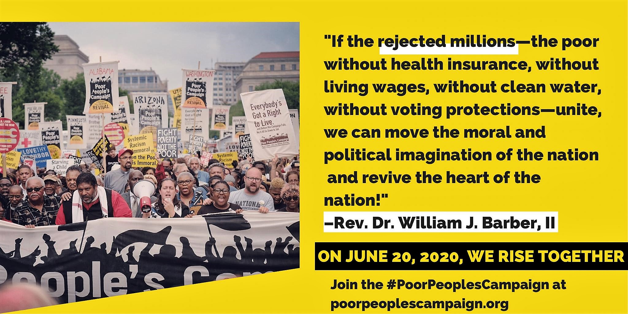 Poor People's Assembly 6/20/20 promo image