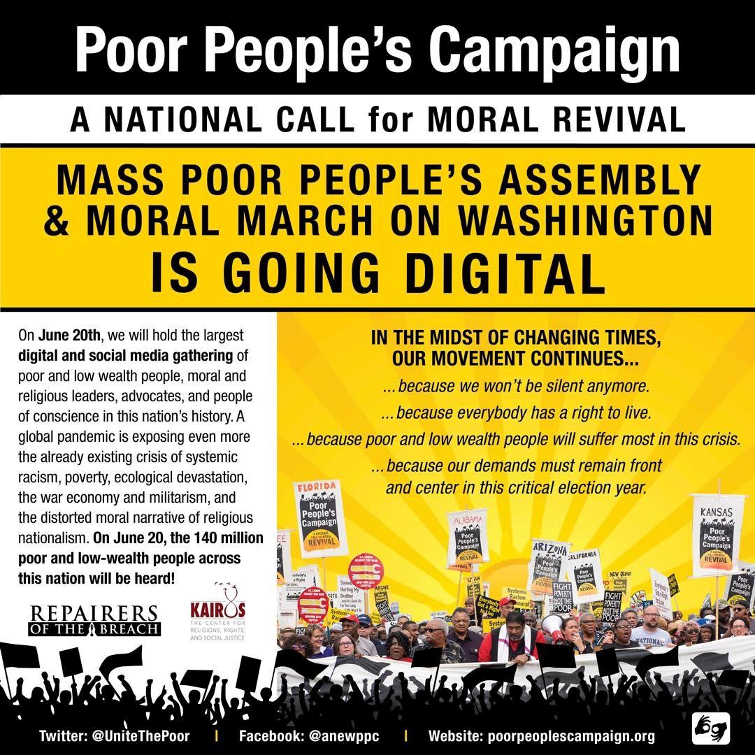 Poor People's Campaign goes digital