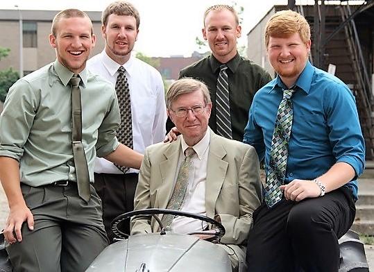 Ralph Quellhorst and grandsons