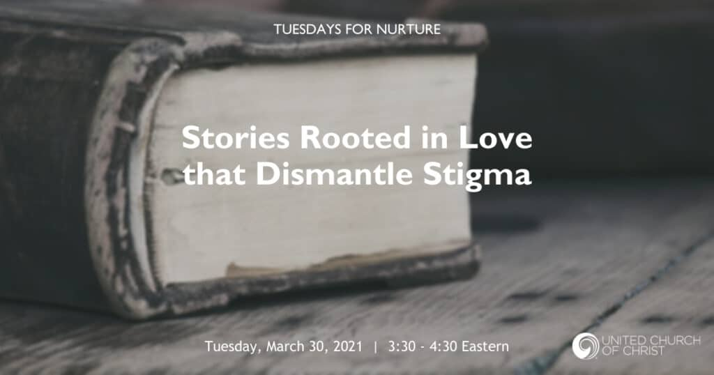 Stories Rooted in Love that Dismantle Stigma Zoom