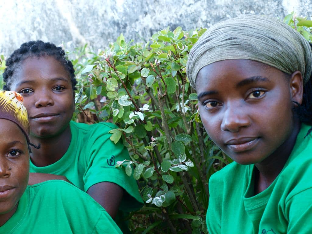 Teens in Mozambique