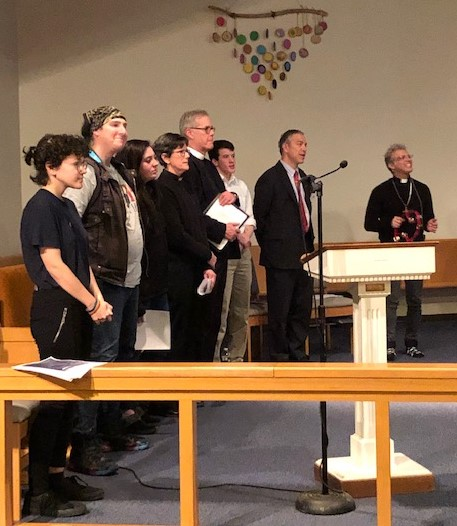 Transgender Day of Remembrance, New Milford, Conn., 11/20/19