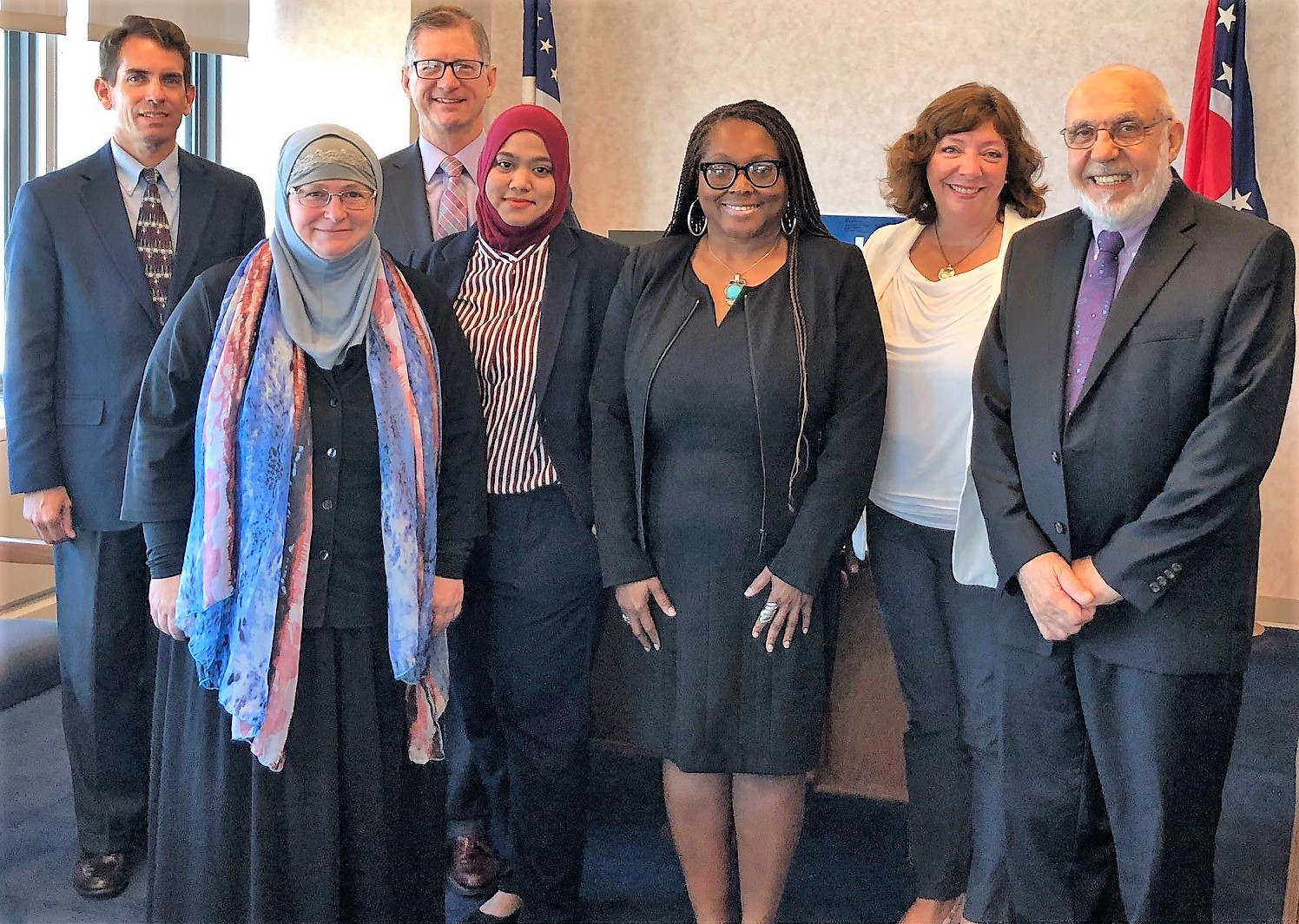 UCC and CAIR leaders at Portman's office 190829