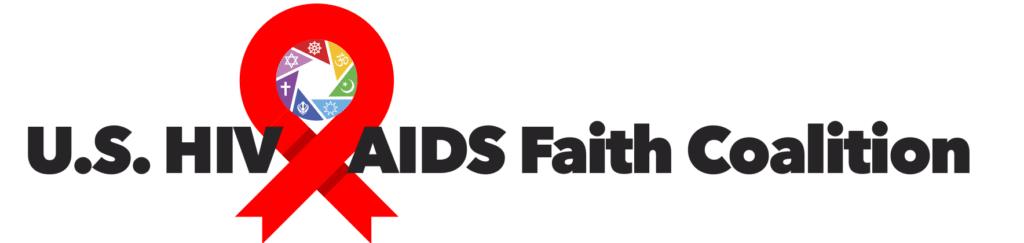 U.S. HIV & AIDS Faith Coalition banner logo