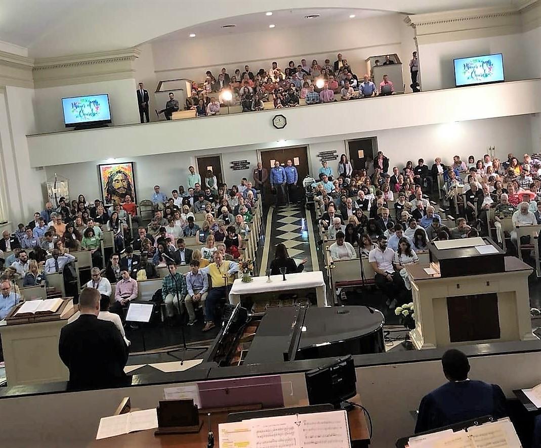 Virginia-Highland Church at worship, 1/6/19