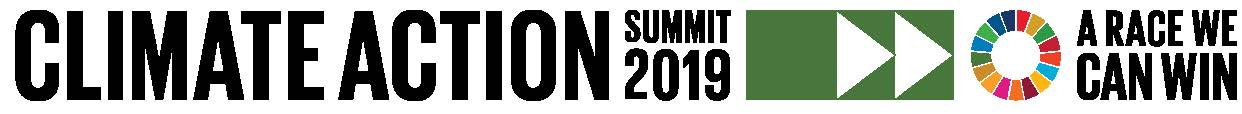 Logo of 2019 UN Climate Summit
