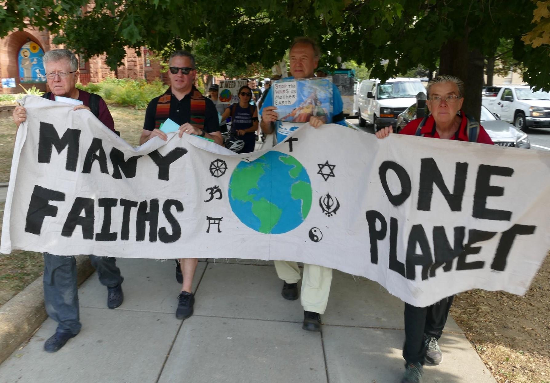 Religious procession, DC, 9/23/19