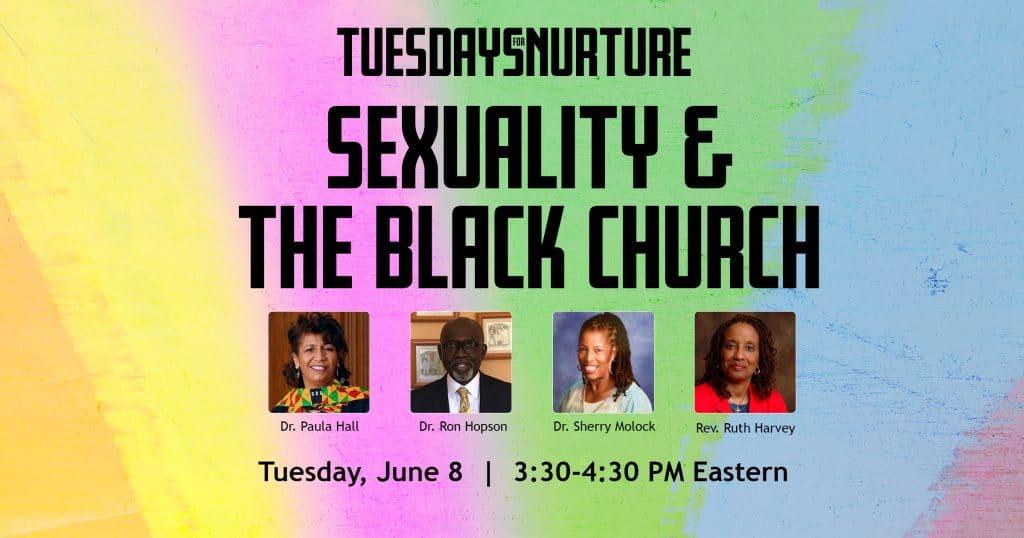 SexualityandtheBlackChurch-TuesdayforNurture-WPImage-Promotion