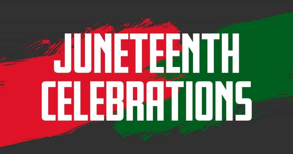 Three Juneteenth celebrations to 'mark freedom for all Americans'