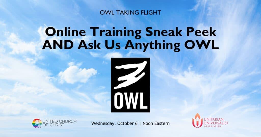OWL-Taking-Flight-October-2021