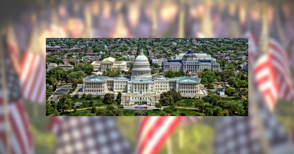 U.S.Capitolw/U.SFlagBckdg